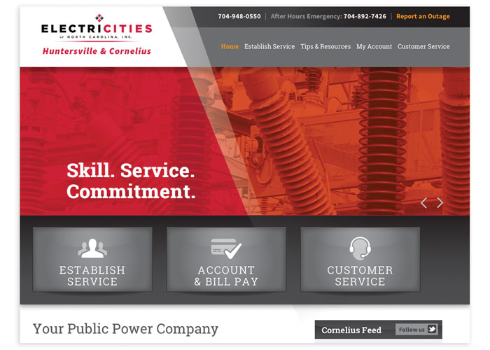 Huntersville & Cornelius Public Power