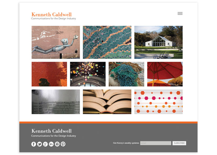 Kenneth Caldwell Communications Website