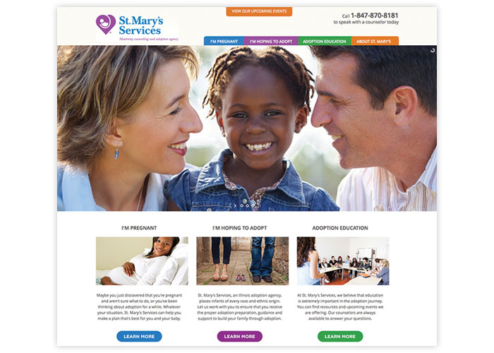 St. Mary Services Website
