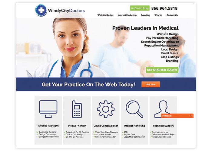 Windy City Doctors Website