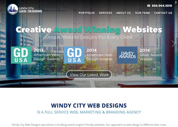 Windy City Web Designs Website