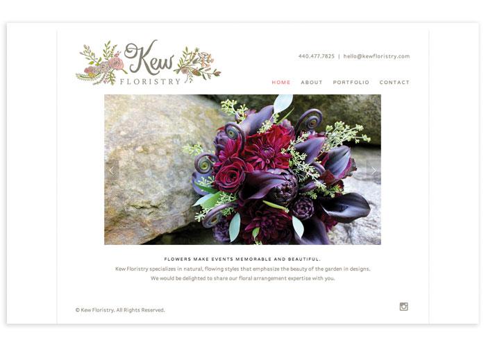 Kew Floristry Website