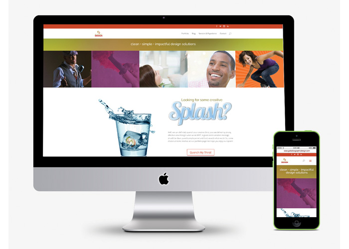 Gabe Diaz Graphic Design Website