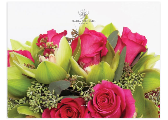 MVD Floral Designs Website