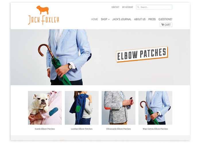 Jack Foxley E-Commerce Site
