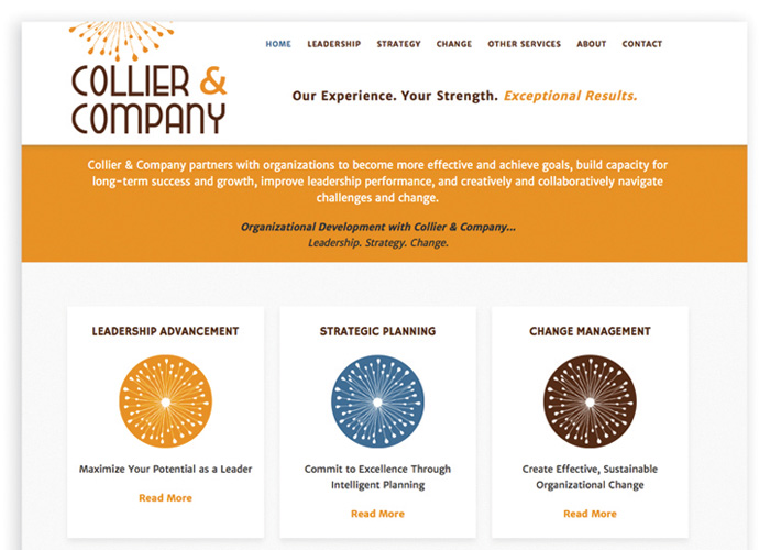 Collier & Company Website Redesign