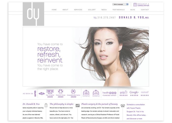 Donald B. Yoo, M.D. Website