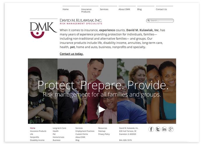 David M Kulawiak, Inc. Website