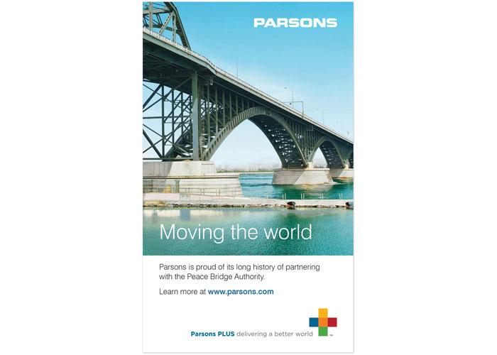 Parsons NY Canada Summit Advertisement