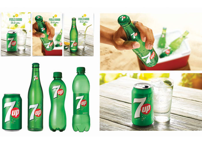 7Up Visual Identity System & Redesign