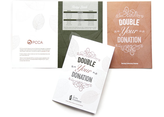 NCPA Foundation Double Your Donation Mailer