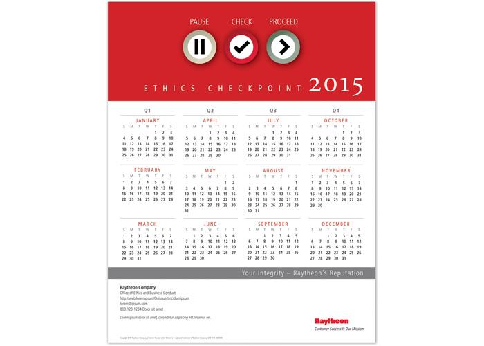 Ethics Checkpoint 2015 Calendar