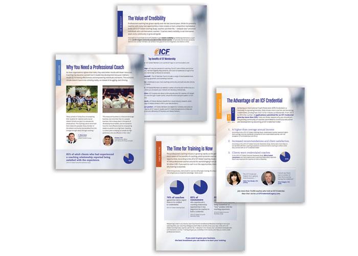 ICF Marketing Flyers