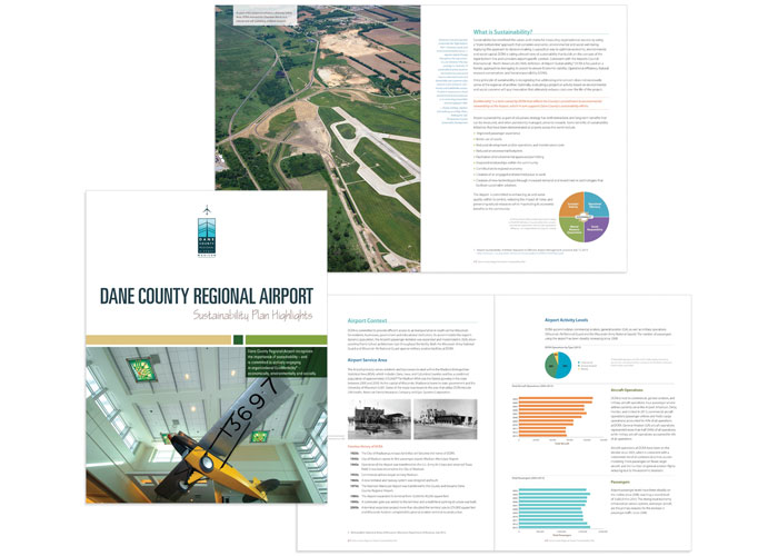Dane County Regional Airport Sustainability Plan Highlights