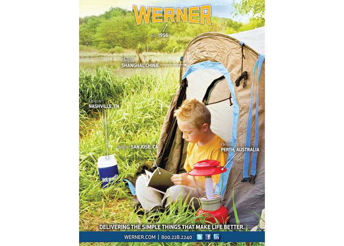 Werner Global Advertisement