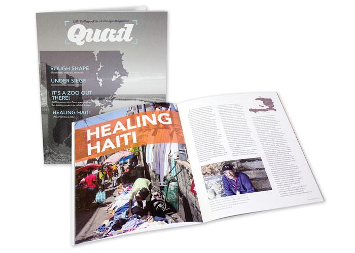 Quad - LSU College of Art and Design Magazine