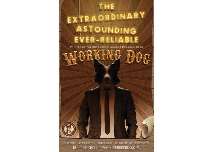 Working Dog Press Sideshow Advertisement