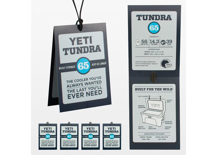 YETI Tundra Hang Tags