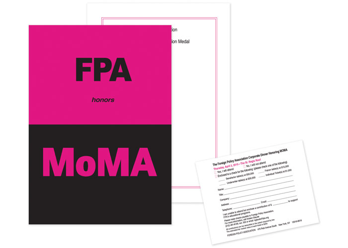 FPA Salutes MoMA Spring Dinner 2015