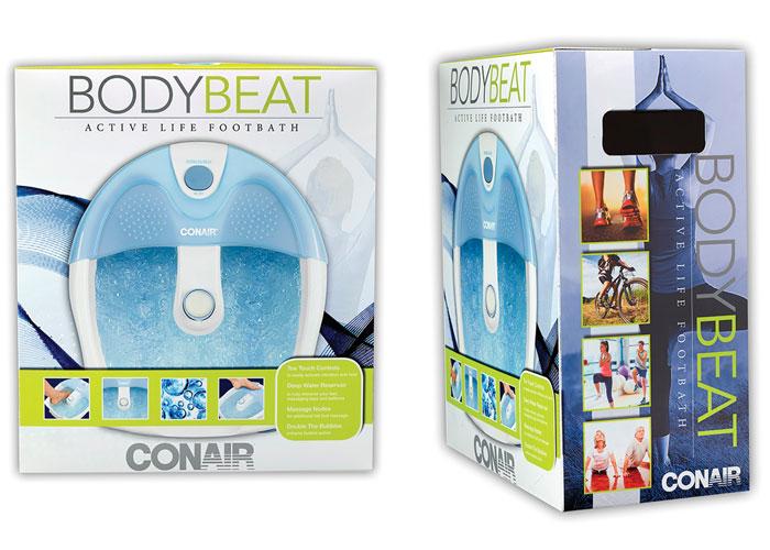 Body Beat 3 - FIT & ACTIVE Footbath