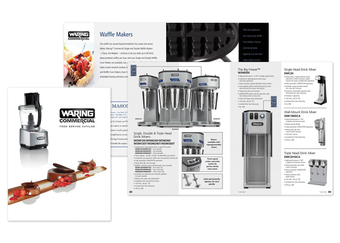 Waring Commercial Food Service Catalog