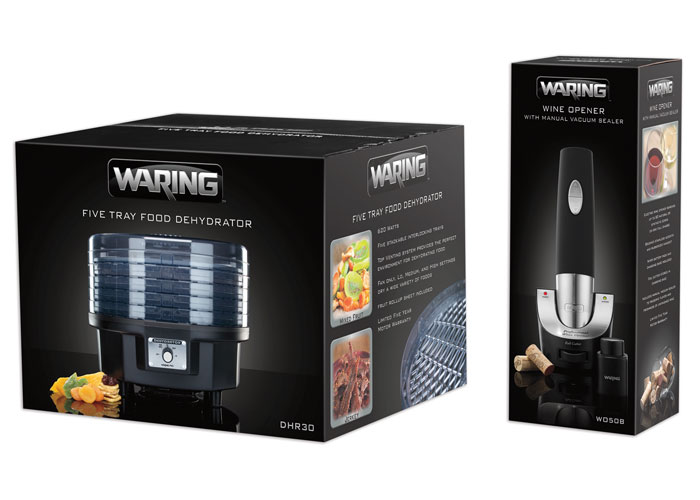 Waring Package Redesign