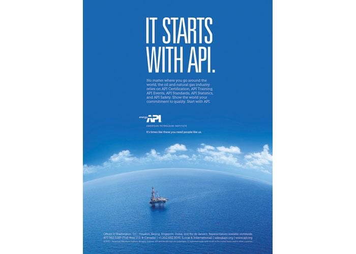 It Starts With API Advertisement