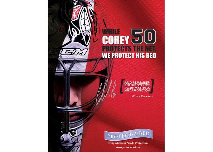 Chicago Blackhawks Sponsorship Campaign Advertising