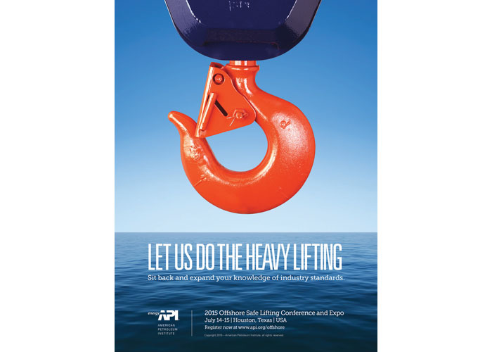 2015 Offshore Safe Lifting Conference Advertisement