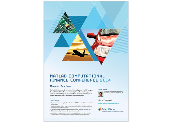 MATLAB Computational Finance Conference Poster