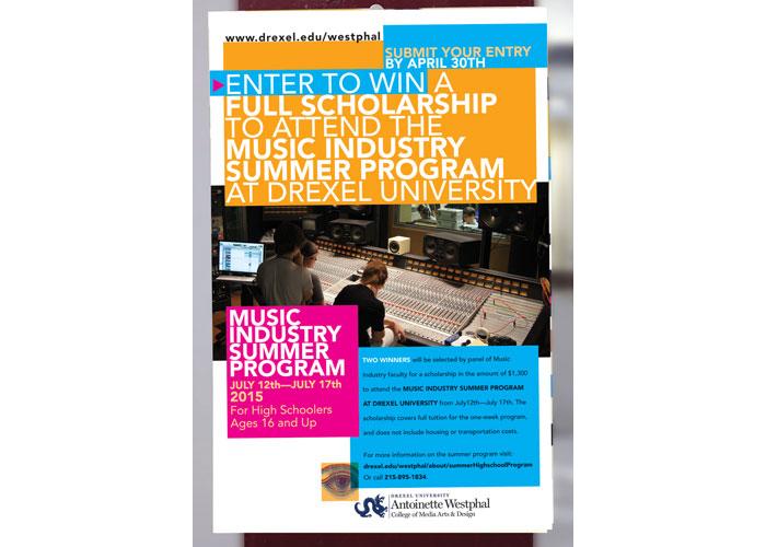 Westphal College Summer Programs Poster
