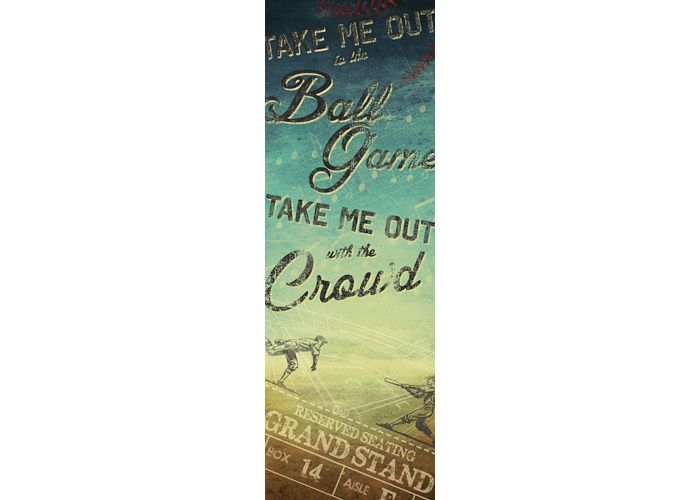 Take Me Out To The Ball Game Canvas Art
