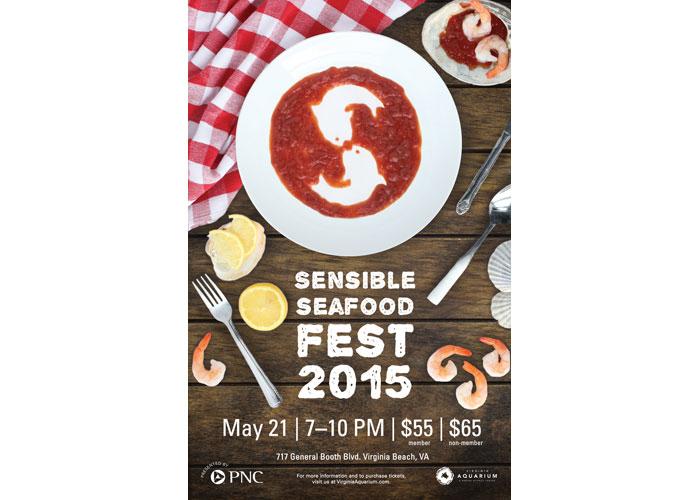 Sensible Seafood Fest Poster