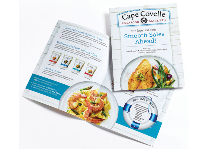 Cape Covelle Seafood Market Sell Sheets