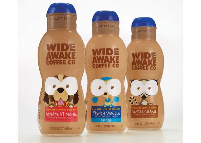 Wide Awake Coffee Creamers