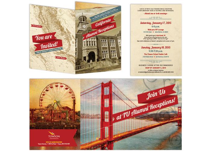 California Alumni Reception Invitation