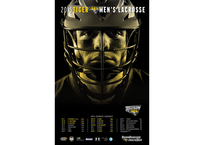 2015 Lacrosse Schedule Poster