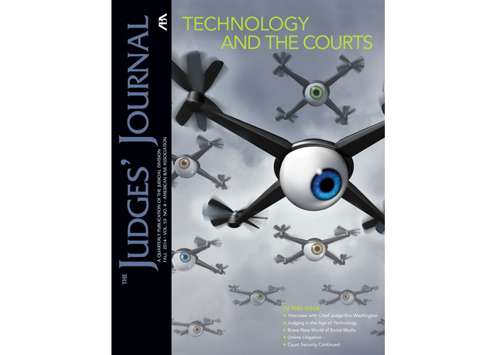 Judges' Journal Fall 2014 Cover