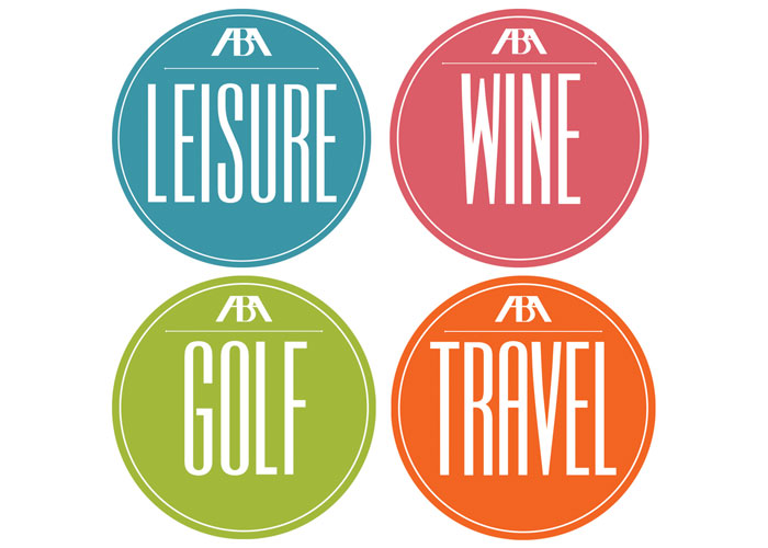 ABA Leisure Logo and Subcategory Logos