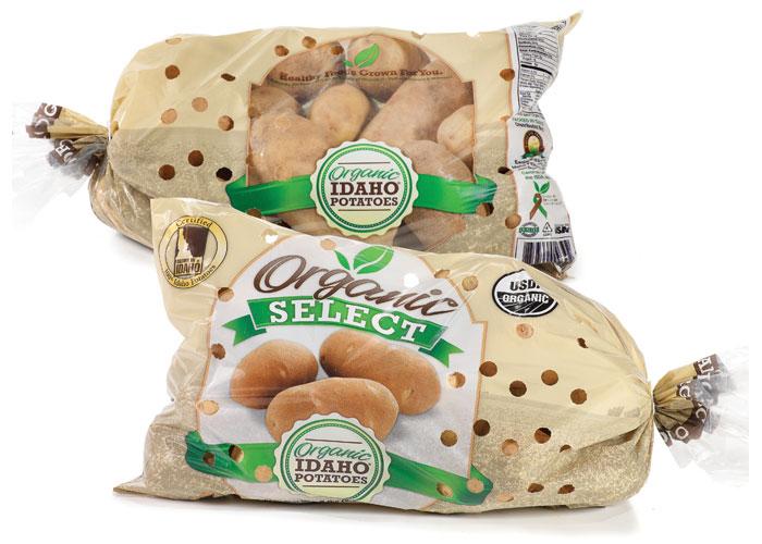 Organic Select Brand, Organic Potatoes