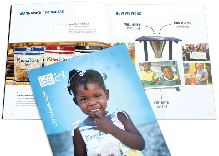 Feed My Starving Children Annual Report 2013-14