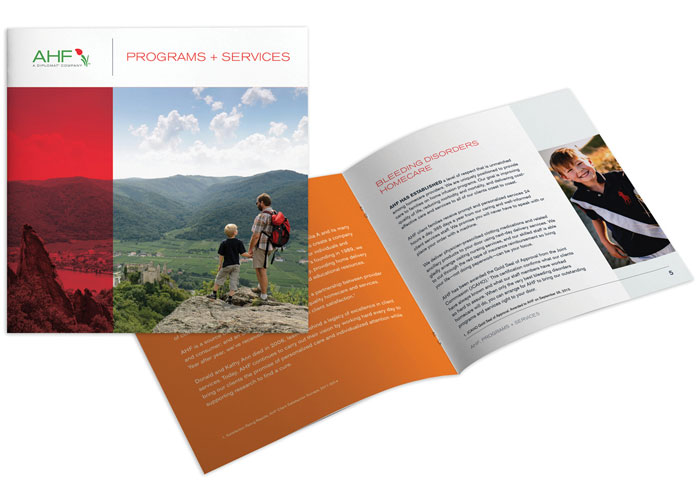 AHF Programs and Services Brochures