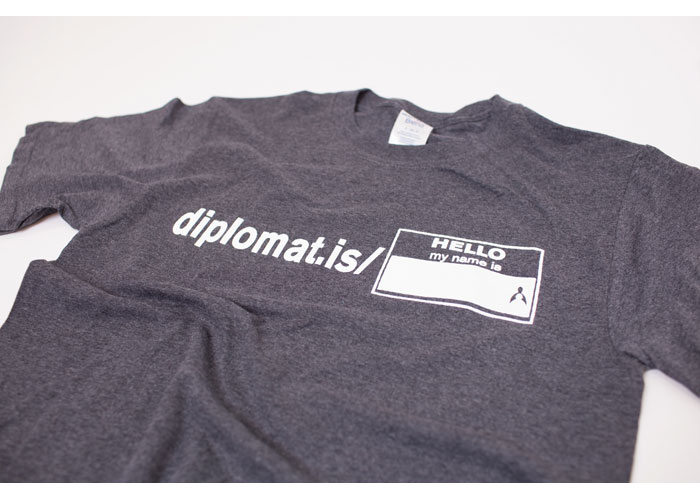 Diplomat.is/My Name is T-Shirt