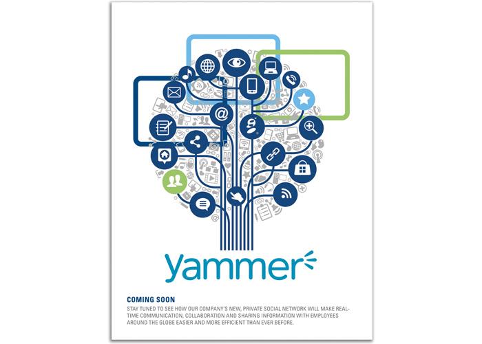 Yammer Teaser Poster