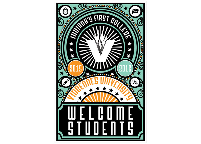 Welcome Students Poster