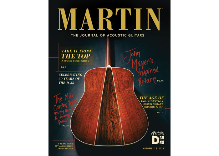 MARTIN The Journal of Acoustic Guitars