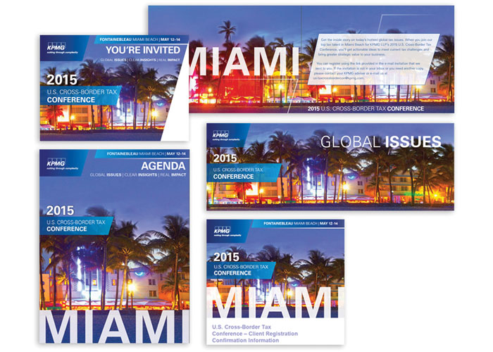 US Cross Border Tax Conference Invite and Event Materials