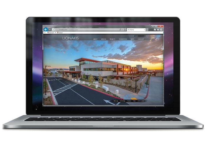 Lionakis.com Website
