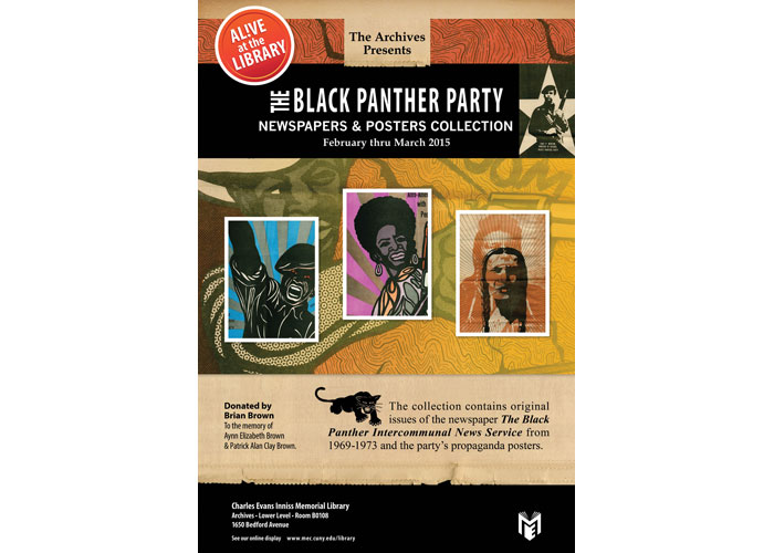 The Black Panther Party Newspapers & Posters Collection