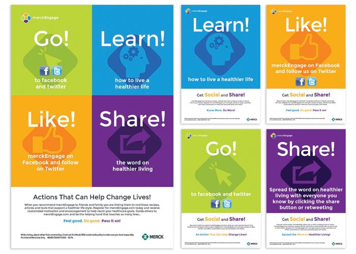 Merck Engage Social Awareness Campaign